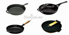Comparativa de sartenes de hierro fundido: http://www.cocina.es/2014/02/06/comparativa-de-sartenes-de-hierro-fundido/