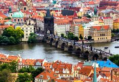 Tourism and sightseeing, view from above over famous sight of. Old Town, Tourism, To Go, In This Moment, River, Stock Photos, Places, Pictures, Turismo