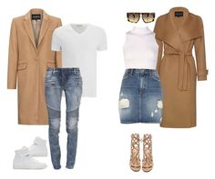 """""""'HIS & HERS' by Melissa's Mirror"""" by melissas-mirror ❤ liked on Polyvore featuring Jaeger, American Vintage, Maison Margiela, Boohoo, Balmain, River Island, Miu Miu, Gianvito Rossi and vintage"""