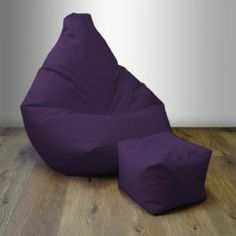 Highback Filled Gaming Beanbag Lounge Chair with matching Foot Stool in Purple. High Quality Water Resistant Material Ready Steady Bed http://www.amazon.co.uk/dp/B00H7H7EGC/ref=cm_sw_r_pi_dp_ErHMtb1RKATRS8MV