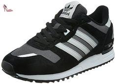 adidas Originals ZX 700, Baskets Basses Homme, Noir-Schwarz (Shadow Black  S16