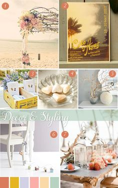 Inspiration for a destination by the sea, 1 of Beach Wedding Colors, Beach Wedding Decorations, Wedding Ideas, Beach Weddings, Wedding Stuff, Wedding Inspiration, Beach Themes, Beach Ideas, Greek Wedding