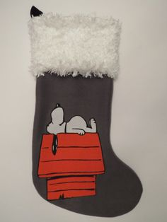 Snoopy Christmas Stocking