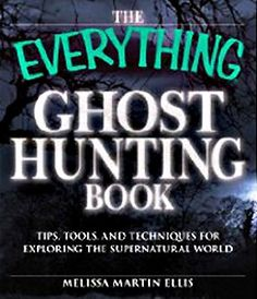Ghost Hunting Book Cover