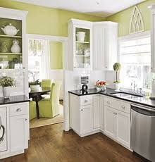Related Image Kitchen White Green Walls Floor E