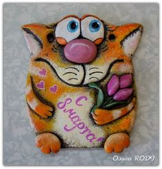 Paper Clay, Clay Creations, Handicraft, Coin Purse, Felt, Cute, Biscuit, Pasta, Ideas