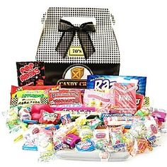 1960's Classic Retro Candy Gift Box #christmas #gifts