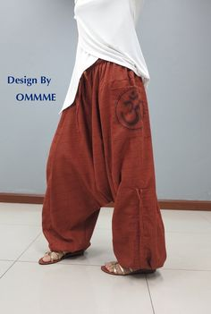 Pantalones de harén OMMME nuevo 047