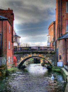 Newbury Bridge, Newbury, England
