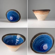 This ceramic bowl is inspired by japanese nature 🇯🇵🎋Cobalt blue colour, surrounded by earthy colour tones, reminds of water sprouts or deep forest lake and will catch your eye 😊 Japanese Nature, Deep Forest, Ceramic Bowls, Cobalt Blue, Sprouts, Earthy, Ceramics, Eye, Colour