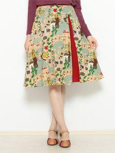 Mallorcaプリントフレアスカート | Jocomomola(ホコモモラ デ シビラ)|【公式】イトキンファッション通販サイト