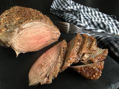 Min bedste opskrift på en lækker, rosastegt kalveculotte eller kalvecuvette - med denne fremgangsmåde lykkes det hver gang og kødet bliver dejlig mørt...