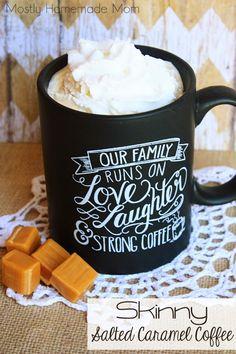 Skinny Salted Caramel Coffee
