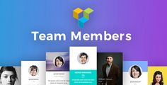 Team Members for Visual Composer by unitecms The best Team Members pack for Visual Composer page builder. Choose from 26 different customisable Team Member layouts we created just for your needs. This pack is truly awesome and unique in its design and usability.Team Members