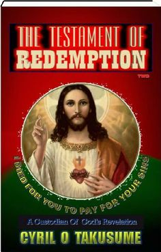 Redemption Deeper Mysteries Revealed (The Testament Of Redemption) by Cyril Orock Takusume. $2.99. 38 pages. Publisher: Takusume's Books Publishers; 1st Edition edition (December 4, 2012)