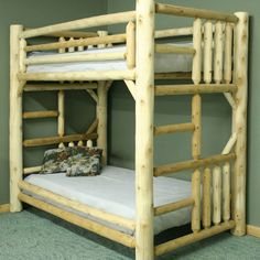 Lakeland Mills Bunk Bed with Built-in Ladder