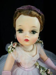 Gorgeous Vintage Madame Alexander Lilac Cissy from 1960 | eBay
