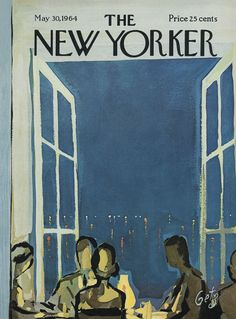 The New Yorker - Saturday, May 30, 1964 - Issue # 2050 - Vol. 40 - N° 15 - Cover by : Arthur Getz