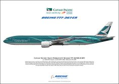 Cathay Pacific Asia's World City Boeing 777-367(ER) B-KPF c/n: 36836/692