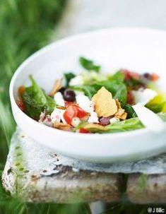 Recettes grecques - Cuisine du monde - Elle à Table Bento, Summer Recipes, Potato Salad, Salads, Food And Drink, Dairy, Cheese, Ethnic Recipes, Table