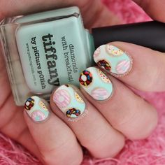 New tutorial up on YouTube - Donut nails! Watch... | Nailed it NZ