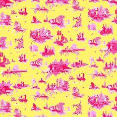 Sparrows & Spatulas: modern monday: favorite modern (nouveau) toile wallpaper