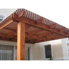 Techo para terrazas de madera