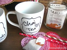 Sharpie Mug Chai Tea