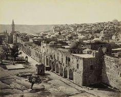 صورة قديمة من القدس/1862....
