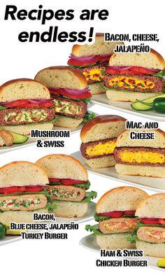 Stufz Stuffed Burger Maker | The Official AsSeenOnTV.com™ Shop