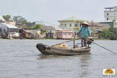 Can Tho - Mekong Delta   Bezoek de drijvende markten. #vietnam