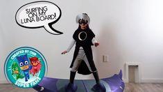 DIY Halloween Costume for PJ Masks villain LUNA GIRL!!