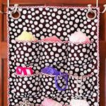 I want to make something like this to hang on the wall over the changing table to hold diapers, creams, etc.