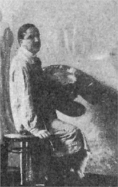 Kimon Loghi  -  Born: 1873; Serres, Macedonia Died: 1952; Bucharest, Romania Nationality: Romanian, Macedonian painter  Movement: Symbolism Art Database, Wealth, Artist, Artwork, Painting, People, Work Of Art, Auguste Rodin Artwork, Artists