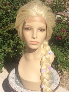 Completion time is 1-2 weeks for all wig orders. If you are in need of rush, please message me before you place your order. This Elsa wig is