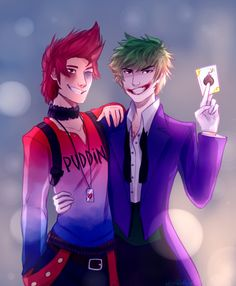 Genderbent Cosplay, Dc Comics, Joker Und Harley Quinn, Villain Costumes, Cartoon As Anime, Joker Art, Male Cosplay, Batman, Cute Gay