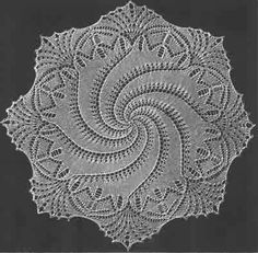 From Yarnover.net, pattern by Verlag Otto Beyer, how I wish this were crocheted, not knitted.  Sigh.