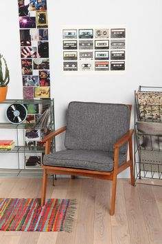 This chair was made for me to sit in. And think. Dagmar Chair
