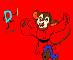Fievel and the Drawception D dance off