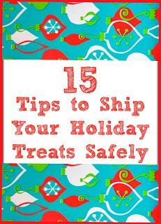 15 Tips to Ship Your Holiday Treats #EZStart #cookieswap #christmas
