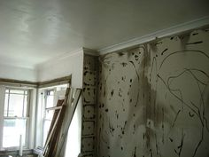 Wall paper and decor removed by Historic Chicago Bungalow Association, via Flickr