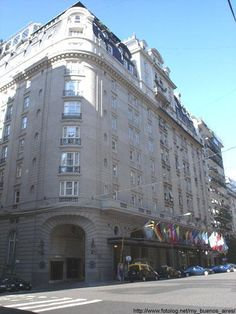 Hotel Alvear Palace..recoleta. Buenos Aires