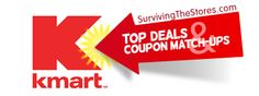 The Kmart Coupon Matchups & Deals for the current week!
