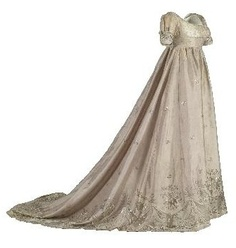 I could definitely see Kitty in this dress! Dress c. 1805