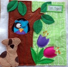 A Home for Max FELT QUIET Book .PDF Pattern by LindyJDesign