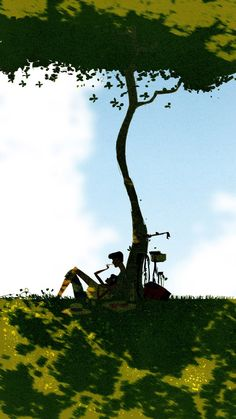 Under the Tree by Pascal Campion