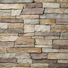 This seamless natural stone veneer can be used as an interior and exterior stone veneer. Estate Stone looks amazing on stone fireplaces, stone accent walls, and pools. Installs like a stone tile. Brick And Stone, Stone Age, Stone Accent Walls, Western Landscape, Glazed Tiles, Stone Veneer, How To Antique Wood, Natural Stones, Champagne