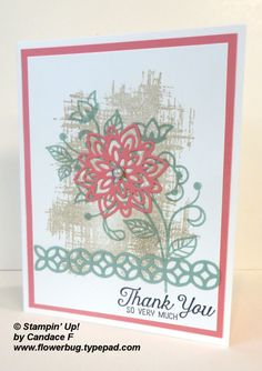 Pretty Flourishing Phrases swap card (Flowerbug's Inkspot)