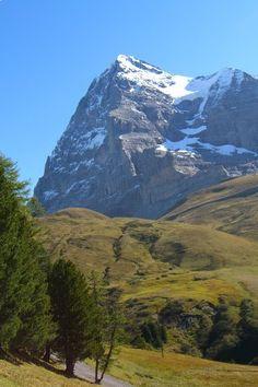 Eiger        13,025' (3,970 m)      Bernese Alps, Bern, Switzerland