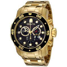 48f3c6a41d5 Relógio Invicta Pro Driver Dourado Masculino - 0074